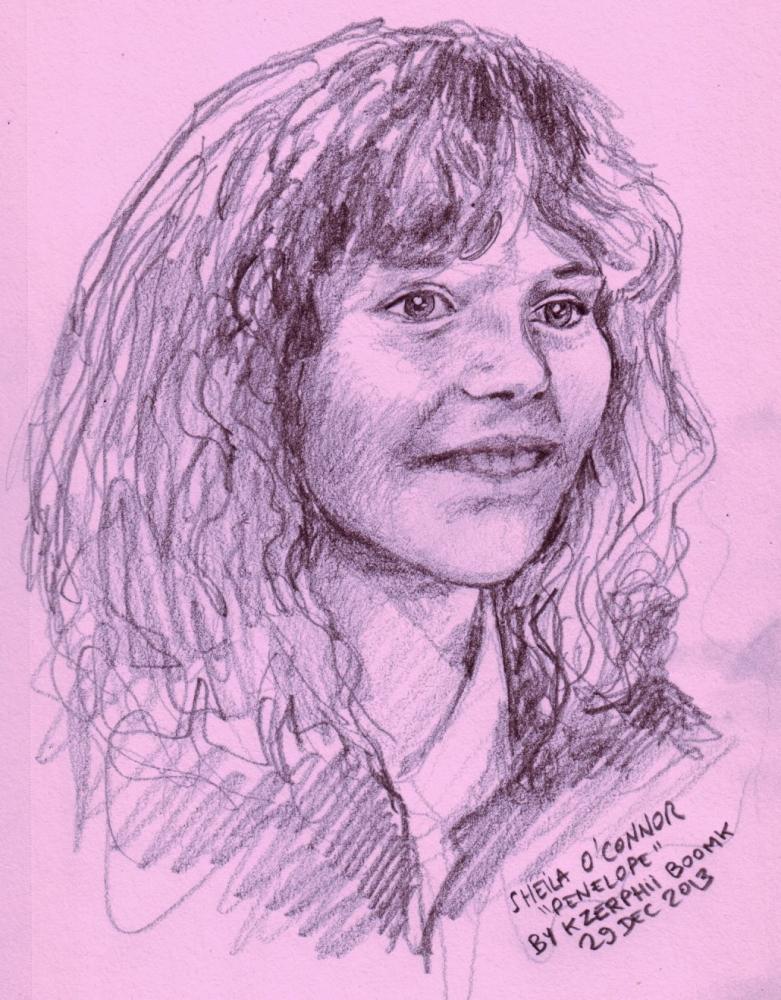 Sheila O'Connor by Kzerphii